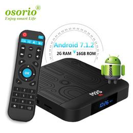 3d hd box Скидка Горячая М9 коробка TV встроенный S905W П1 Андроид 2 ГБ 16 ГБ четырехъядерных процессоров 2.4 г беспроводной 3D и 4K VP9 или HDR10 Андроида IPTV 7.1 смарт-медиа-плеер телеприставки
