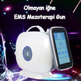 2019 mesogun per mesoterapia 2019 La migliore vendita EMS RF Mesogun Non ago EMS Mesotherapy Gun Nano Aghi Beuaty Gun Machine Per uso Salon CE / DHL sconti mesogun per mesoterapia