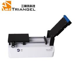 Ferramenta oca on-line-Máquina de Reparação de tela Built-in Vacuum OCA Máquina de Laminação Filme LCD Touch Screen Laminado Polarized Film Repair Tool