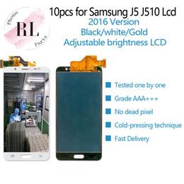 Регулируемая яркость ЖК-дисплей для Samsung Galaxy J5 2016 J510F J510G J510 ЖК-дисплей с сенсорным экраном дигитайзер Ассамблеи cheap touch screen digitizer s3 от Поставщики дигитайзер с сенсорным экраном s3