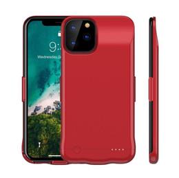Verlängern telefon online-Batterie-Kasten für iPhone 11 Pro Max 6200 mAh Batterie-Fall-bewegliches Telefon Backup-nachladbare ausgedehnte Ladegerät Fall mit Kleinpaket