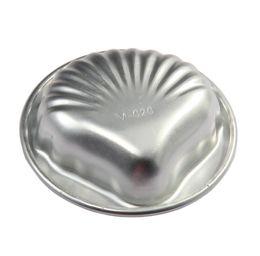 2019 new arrivals shell forma liga de alumínio bolo molde fondant pudim de doces molde de chocolate para cozimento diy de