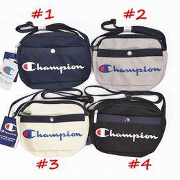 Мужская нейлоновая сумка онлайн-Champion бренд дизайнер Crossbody сумка мужчины женщины нейлон одно плечо сумки спортивные сумки на открытом воздухе сумка роскошные сумки дорожные сумки C82009