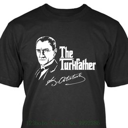876f9209 Discount t shirt turkey - The Turkfather Mustafa Kemal Ataturk T Shirt  Turkei Turkiye Turkey Tees