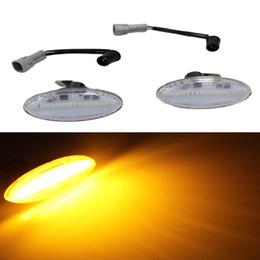 señal de giro mazda Rebajas Luz LED Lámpara de marcador lateral señal de giro de humo Luz intermitente secuencial de luz para MAZDA 2 3 5 MPV Lámpara de repetidor de guardabarros 1 par