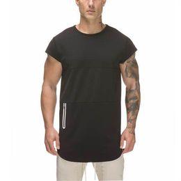 Влаги влагу футболки оптом онлайн-Мужские сухие Fit Fit Moisture Wicking Активные Спортивные выступления с круглым вырезом Хлопок с коротким рукавом футболки оптом