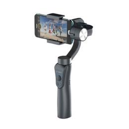 2019 mini transmisor de cámara Estabilizador de cardán de mano de 3 ejes G5 para teléfonos inteligentes