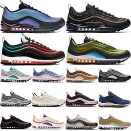 Будущее серебро онлайн-LX атавизма будущих мужских 97OG кроссовок неонового сеул Silver Bullet undftd белых черные Фантом мужчины женщины дизайнер обувь 36-45