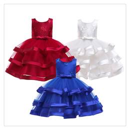 Paillettes de fleurs élégantes robes de princesse enfant en bas âge filles été Halloween Party Girl tutu robe enfants robes pour filles vêtements de mariage ? partir de fabricateur