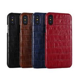 art und weise echtes leder iphone Rabatt Für iPhone X Fall echtes Leder-Abdeckung für iPhone 11 Pro Max 7 8 Plus XR XS MAX SE Phone Cases Zurück Capas Fashion Funda