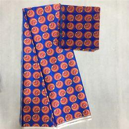 weiße seide tüll perlen Rabatt Weiche Seidensatin 4,5 * 1.48m Ankara Wachs Druck Stil Mode Neue Afrikanische Spitze Material textil für Nähen TJ022603