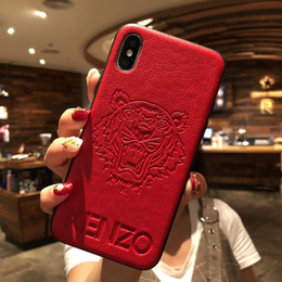 All'ingrosso per la marca di Parigi Iphone Fashion Famous Brand New Designer Casse del telefono per XR XS MAX X 6 S 7 8 più TPU Morbido Back Cover DHL libero cheap new tpu case da nuovo caso tpu fornitori