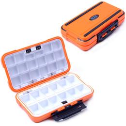 großhandel stahlfallen Rabatt Angelgerät Lagerung New Lure Fishing Box 24 Fächer Double Layer Fishing Box Kunststoff Angelgerät Box