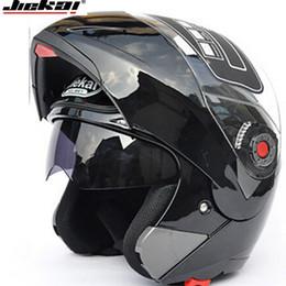 capacete modular para cima Desconto Motocicleta Dual Visor capacetes Modular Flip Up capacete de corrida dupla lente de capacete de corrida capacete casco moto ECE capacete JIEKAI 105