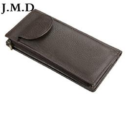 Deutschland J.M.D 100% Echtes Leder Geldbörse Brieftasche Kartenhalter 2 Farbe Bequem Handytasche 8065 cheap real leather cell phone holder Versorgung