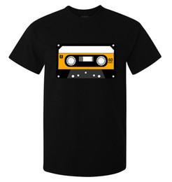 obra de arte amarilla Rebajas Camiseta de color amarillo de Cassette Artwork Hipster Vintage para hombre (mujer disponible) negro