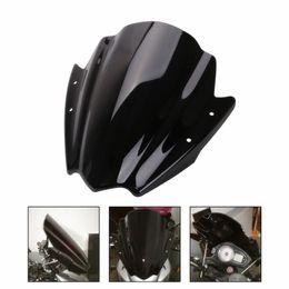 kawasaki ninja pára-brisas Desconto LOONFUNG LF247 da motocicleta do pára-brisa pára-brisas Viser viseira vidro frontal Para Honda BMW KTM Yamaha