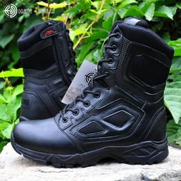 leichte wanderschuhe Rabatt Taktische Stiefel Leichte Outdoor-Schuhe Militärische Wasserdichte Atmungsaktive Tragbare Stiefel Wandern Desert Combat # 97143