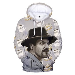 2019 coole jungs-sweatshirts Fremde Dinge Hoodies Männer Hoodie Sweatshirts Männer / Frauen Fremde Dinge 3 Mit Kapuze Junge / Mädchen Winter Baumwolle Brand Design Cool Coat günstig coole jungs-sweatshirts