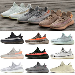4b13e2d1b12af5 Discount off white flat laces - 2019 Clay V2 Static Hyperspace Sesame men  women running shoes