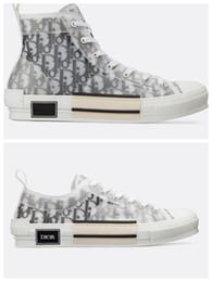 Zapatos de los hombres de la vendimia online-2020 New B23 Flowers Obliques Tess Leisure Plataforma de diseñador de moda de lujo Triple S Zapatillas Hombre Mujer Vintage Trainer Zapatillas deportivas