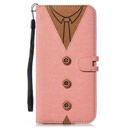 Bolsas de tela online-2019 OPP Bag Funda de tela Funda de protección para Kickstand para hombres Mujeres Tie Clothes Slot Card Csae para iPhone X Samsung J3