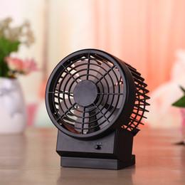 Canada Mute ventilateur USB mini version grand ordinateur à deux vantaux avant petit ordinateur 5 pouces ventilateur électrique cheap electric desktop fan Offre