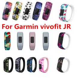 Дешевая замена ремешков на запястье для часов Garmin vivofit JR Силиконовый ремешок с застежкой для часов Garmin vivofit JR ремешок для часов браслет от