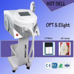 importa dos Rebajas La máquina multifunción de depilación láser OPT E-Light de dos sistemas con lámpara de xenón con flash IPL importada del Reino Unido