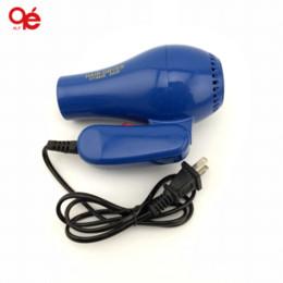 marcas de secador de cabelo Desconto Brand new casa acessório doméstico 220 v 500 w portátil dobrável mini secador de cabelo jecksion atacado