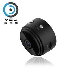 Aggiornato mini telecamera A9 4K HD wifi super 10m visione notturna ultra-piccola fotocamera telefono wireless monitoraggio remoto batteria integrata nera da