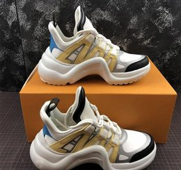 2019 новый модный бренд ACE Archlight кроссовки женщины мужчины повседневная дизайнерская обувь мода черный белый открытый ходьба любитель обувь 36-42 от
