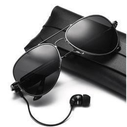 2019 telefone oval Óculos de sol inteligentes Sem fio Bluetooth óculos de sol Esportes fones de ouvido MP3 player Bluetooth fone de ouvido sem fio Bluetooth lentes de óculos telefone oval barato
