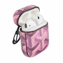 2019 accesorios de diseñador al por mayor AirPods estuche al por mayor cubierta de auriculares Diseñador de lujo para la verdadera inalámbrica 100% de protección AirPod Accesorios moda