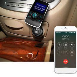 multi-funktions-handy-ladegeräte Rabatt Neuer drahtloser Multifunktionsauto-MP3-Player HY68 1,44 Zoll-Schirm verdoppeln USB-Auto-Ladegerät-Unterstützungs-Bluetooth-freihändiges Telefon