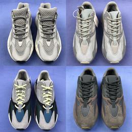 lowest price 226c9 becd5 Adidas Yeezy Boost 700 V2 Mejor calidad malva 700 zapatos para hombre  zapatos de diseñador wave runner 700s hombres mujeres corriendo zapatillas  deportivas ...