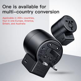Todo en uno Adaptador internacional universal de enchufe Adaptador del cargador de alimentación de CA de World Travel con AU Plug in EE.UU. desde fabricantes
