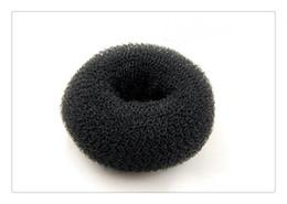 Cabelo Ferramentas Mágicas Bun Fabricante De Arcos Laço Francês Styling Hair Ties Cabelo Da Menina DIY Styling Doughnut Former Foam Magic Bun Maker de Fornecedores de ornamento de sino