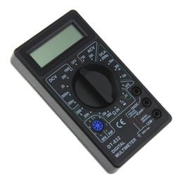 2019 mètre ampères Tension multimètre numérique / courant continu tenu dans la main d'essai de mètre de DT832 ampère promotion mètre ampères