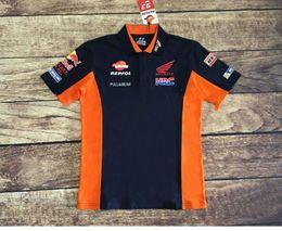 motogp t shirts Sconti 2018 Nuova MotoGP Marc 93 Moto Racing Repsol per honda Polo Shirt Moto Motocross Sport T-shirt