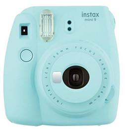 2019 instax mini folhas de filme Fujifilm Instax Mini 9 Instant Camera + Fuji Film instantâneas (20 folhas) + Bolsa de transporte, filtros de cor, álbuns de fotos, Assorted Frames, selfie L desconto instax mini folhas de filme