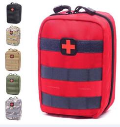 Argentina Bolsa vacía para kits de emergencia Tactical Medical Kit de primeros auxilios Paquete de cintura Acampar al aire libre Senderismo Viajes Molle táctico Mini Más nuevo A NO1 Suministro