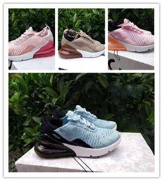 innovative design f9736 d2d6a nike air max airmax 270 V2 2018 nouveau-né 270 enfants chaussures de course  noir blanc poussiéreux cactus 27c en plein air enfant en bas âge athlétique  ...