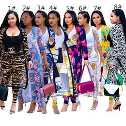 fashion womens sweatshirt wholesale Promo Codes - Womens cloak+pants 2 piece set tracksuit jogging sportsuit jacket leggings outfits sweatshirt tights sport suit klw1830