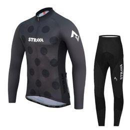 camisetas de ciclismo baratos Rebajas Jersey de ciclismo de invierno de lana térmica para hombre, manga larga, ropa de ciclismo, ropa de bicicleta, bicicleta, maillot, ciclismo 2019