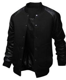 Tasche groß online-ZOGAA 2019 NEUE Männer Jacke Große Tasche Schlanke Hip Hop Baseball Jacke Designer Langhülse Pure Color Herren Windjacke Jacken