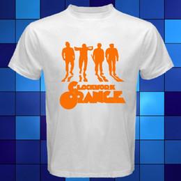Camiseta branca laranja on-line-UM LAR DE TRABALHO LARANJA Filme Crime T-Shirt Branca Tamanho S M XL XL 2XL 3XLMen Mulheres Unissex Moda tshirt Frete Grátis