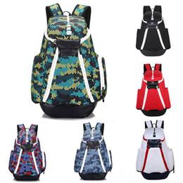 sacos de sapatos de viagem ao ar livre Desconto Marca EUA Saco de Designer Homens Mochilas de Basquete Saco de Desporto Mochila Moda Mochila Ao Ar Livre Sacos de Viagem À Prova D 'Água Sapatos Sacos