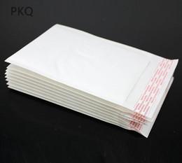 sacos ziplock vermelhos Desconto 100p cs / lot Branco Kraft bolha Mailers acolchoados Envelopes Bolsas Suprimentos Auto Seal alta qualidade Negócios Escritório Escola de Expedição