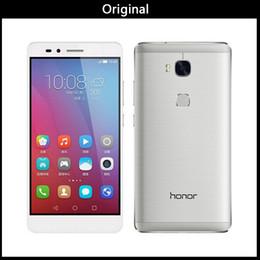 telefones celulares india Desconto nova Internacional Firmware HuaWei Honor 5X Jogar 4G LTE Cell Phone Android 5.1 5.5